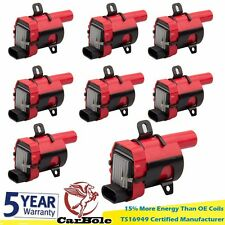 8X High Output New Ignition Coil Pack for Chevrolet GMC 5.3/6.0/4.8L UF-262 D585
