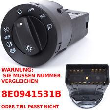 AUDI A4 8E B6 B7 00-07 LICHTSCHALTER HAUPTLICHT SCHALTER + AUTO 8E0941531B NEU