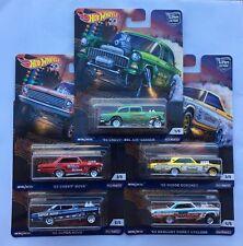 Hot Wheels Drag Strip Demons Chevy Bel Air Gasser Nova Dodge Coronet Mercury Set