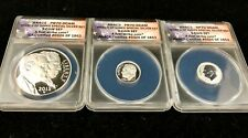 2015-W March of Dimes Special 3 Coin Silver Set ANACS PR 70 DCAM