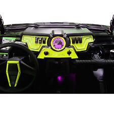 Polaris Rzr Xp1000 Utv Atv Dash Panel Plates Billet Aluminum Lime Squeeze