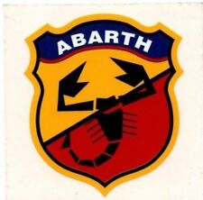 Abarth Rear Car Exterior Styling Decals