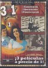 DVD - El Amor De Mi Vida NEW 3 En 1 Joselito Rodriguez  FAST SHIPPING!