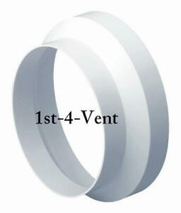 """6"""" x 4"""",  150mm x 100mm PLASTIC DUCTING REDUCER, NECK ADAPTER for Extractor Fans"""