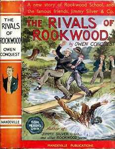 Conquest, Owen THE RIVALS OF ROOKWOOD SCHOOL 1951 Hardback BOOK