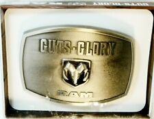 """DODGE RAM DIE-CAST """"GUTS-GLORY""""- OFFICIAL LICENSED PRODUCT"""