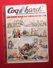 COQ HARDI Album éditeur n°6 - n°68 à 80. Première série 1947. Usagé