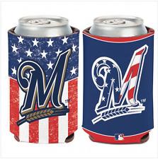 Milwaukee Brewers MLB Can Cooler 12 oz. Koozie