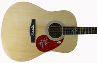 Hunter Hayes Country Musician Signed Acoustic Guitar Autographed BAS #B91369