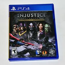 Replacement Case (NO GAME) Injustice Gods Among Us Ultimate PlayStation 4 PS4