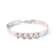 Joomi Lim 5 Spike Cuff Necklace NWOT 215 Rose Gold
