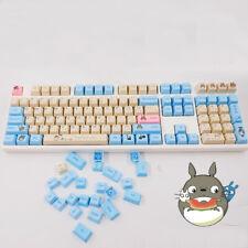 131 Kawaii Totoro PBT Key Caps Dye-subbed PBT Keycap Set For Cherry MX Keyboard