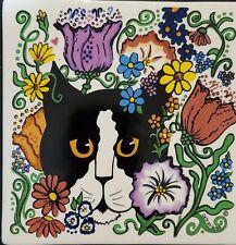 Nina Lyman Tuxedo Cat Trivet
