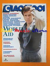 rivista CIAO 2001 32/1990 POSTER Bono Vox Peter Gabriel Sting Sonic Youth *No cd