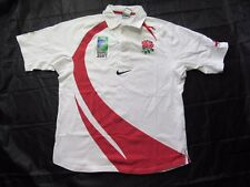 ENGLAND Rugby Union World Cup 2007 home shirt Jersey NIKE Red Roses adult SIZE M
