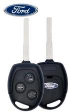 Ford Fiesta 2011 17 3 Button Remote Head Key Kr55wk47899 Hu101 Chip 80 Bit Oem Fits Ford