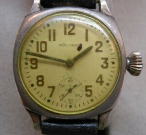 ANTIQUE 1926 WALTHAM 15 JEWELS MEN'S WRISTWATCH