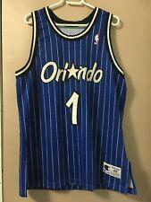 NBA Authentic Anfernee Penny Hardaway Orlando Magic Jersey Champion Road Blue 48