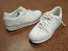 NIKE CORTEZ CLASSIC WHITE WOMENS LADIES RUNNERS CASUAL SHOES SIZE 11 317266-11