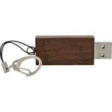 InLine 32GB USB 3.0 SuperSpeed Speicherstick mit Schlüsselanhänger, Walnuss Holz