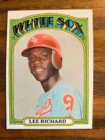 1972 Topps #476 Lee Richard - White Sox
