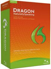 Nuance Dragon NaturallySpeaking Home 12 - New Retail Box 12.5