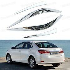 Chrome Rear lamp Tail Light Frame Cover Trim Fit for Toyota Corolla 2014