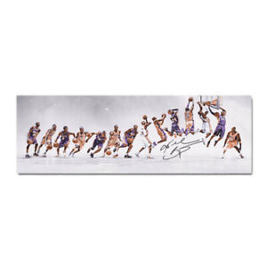 Kobe Bryant Canvas Poster Wall Art Print Slam Dunk Guide Basketball Picture