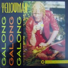 LP 33 Yellowman Galong Galong Galong Greensleeves Records GREL 87 uk 1985