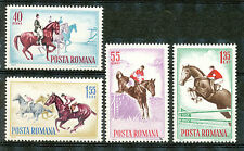 Roemenië 2276 - 2279 postfris  (motief Paardensport)