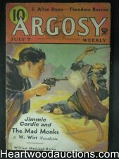 """""""Argosy"""" July 7 1934 Classic Jimmie Cordie Cover"""