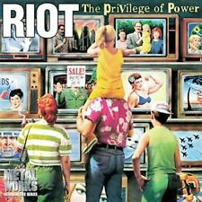 RIOT - THE PRIVILEGE OF POWER NEW CD
