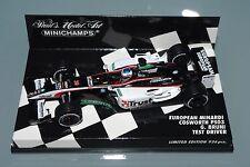 Minichamps F1 1/43 Europea Minardi Cosworth PS03-controlador de prueba G. Bruni 936 piezas