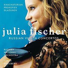 Glazunov / Khachatur - Russian Violin Concertos [New SACD]