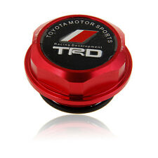 Red Aluminum TRD Billet Engine Oil Filler Tank Cap Cover For Toyota/Lexus/Scion