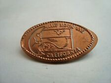 Half Moon Bay, California - Retired zinc penny