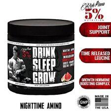 Rich Piana 5% Nutrition Drink Sleep Grow Nighttime Aminos 30 Serv. (WATERMELON)