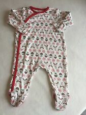 Unisex Baby Clothes 0-3 Months-Christmas Baby Grow Sleepsuit Outfit -New -
