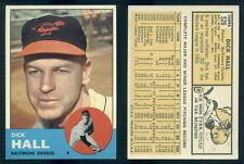 (45476) 1963 Topps 526 Dick Hall Orioles-EM