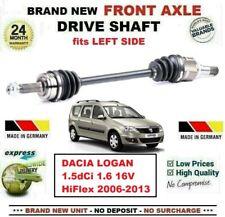 Per Dacia Logan 1.5 DCI 1.6 16V Hiflex 2006-2013 Nuovo Asse Anteriore Semiasse