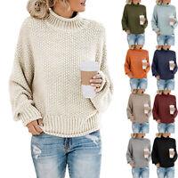 Cashmere Knitted Sweater Women Turtleneck Jumper Korean Ladies Pullover Female