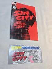 Sin City #1/2 Another Saturday Night Comic Book Nm