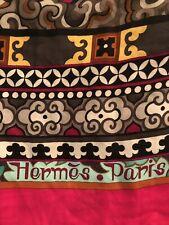 "Hermes Cashmere Silk Scarf (54""x54"") or (140cm x 140cm)"