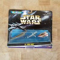Vintage 1996 Star Wars Micro Machines Space IX Star Wars Miniatures Ships