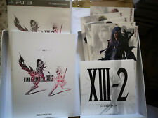 FINAL FANTASY XIII-2 LIMITED COLLECTOR'S EDITION PLAYSTATION 3 COME NUOVO ITA #0