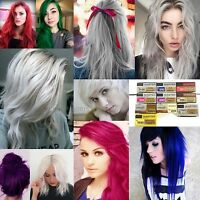 DCASH Master Hair Color Cream Permanent Dye Grey,White,Violet,Silver,Pink,Blue