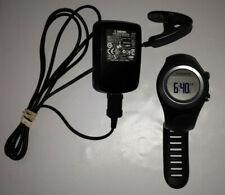 GARMIN Forerunner 405 Water Resistant Running GPS Black & Gray with Power Supply