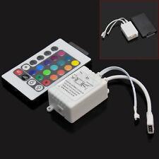 Controller Centralina + Telecomando 24 Tasti per RGB LED Striscia Controllo