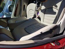 Jaguar X Type Interior Heated Cream Leather Seats and Door Cards - EXCELLENT
