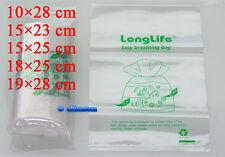50 pcs - LongLife Aquarium Breathing Bags ~Kordon breather Substitute